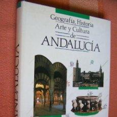 Libri di seconda mano: GEOGRAFÍA, HISTORIA, ARTE Y CULTURA DE ANDALUCÍA. ALGAIDA, 1989.. Lote 170157680
