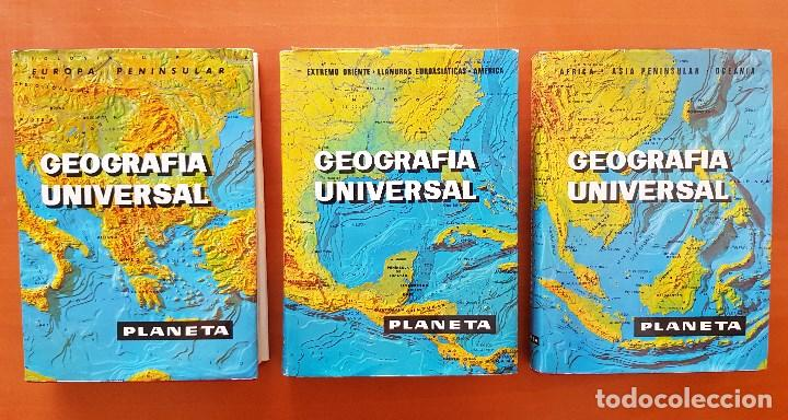 GEOGRAFÍA UNIVERSAL LAROUSSE (Libros de Segunda Mano - Geografía y Viajes)