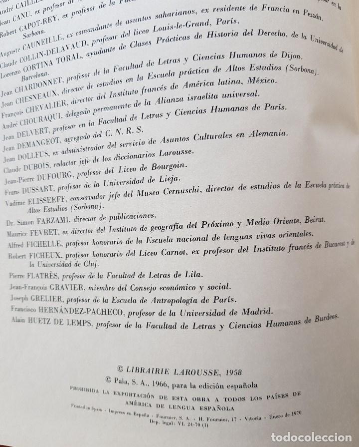 Libros de segunda mano: GEOGRAFÍA UNIVERSAL LAROUSSE - Foto 3 - 170276552