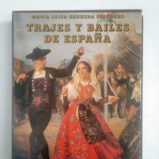 Libros de segunda mano: TRAJES Y BAILES DE ESPAÑA. - HERRERA ESCUDERO, MARÍA LUISA. TDK387. Lote 170502620