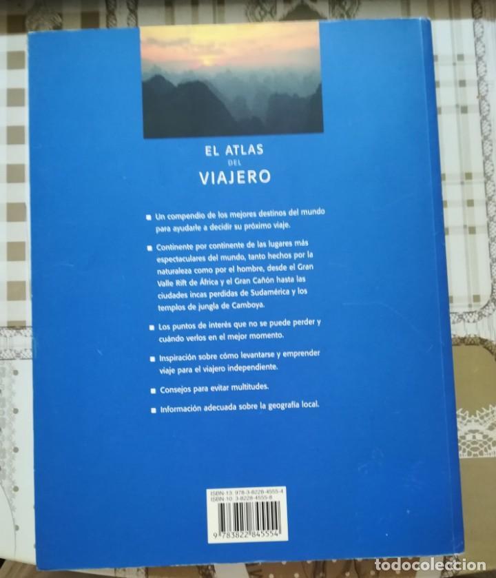 Libros de segunda mano: El atlas del viajero. Una guía global de los lugares que tiene que visitar alguna vez en su vida. - Foto 2 - 170859265