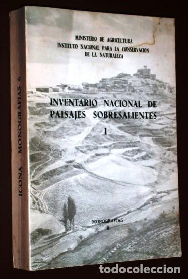 INVENTARIO NACIONAL DE PAISAJES SOBRESALIENTES I DEL MINISTERIO DE AGRICULTURA EN MADRID 1975 (Libros de Segunda Mano - Geografía y Viajes)