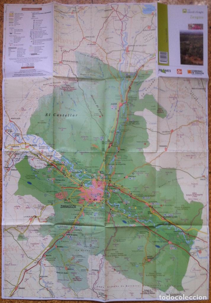 Libros de segunda mano: Red Natural de Aragon. Editorial Prames 2006 - Zaragoza - Tomo 10 y mapa. - Foto 3 - 171181515
