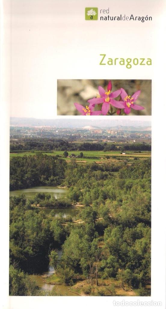 RED NATURAL DE ARAGON. EDITORIAL PRAMES 2006 - ZARAGOZA - TOMO 10 Y MAPA. (Libros de Segunda Mano - Geografía y Viajes)