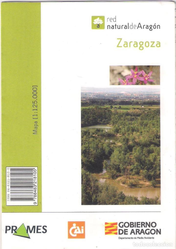 Libros de segunda mano: Red Natural de Aragon. Editorial Prames 2006 - Zaragoza - Tomo 10 y mapa. - Foto 2 - 171181515