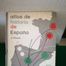 Libros de segunda mano: ATLAS HISTORIA DE ESPAÑA. Lote 171317825