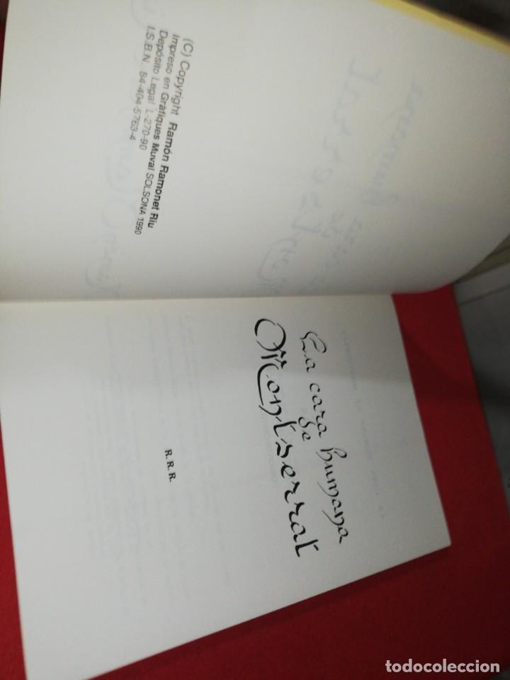 Libros de segunda mano: Ramón Ramonet Riu, la cara humana de Montserrat - Foto 2 - 171371058