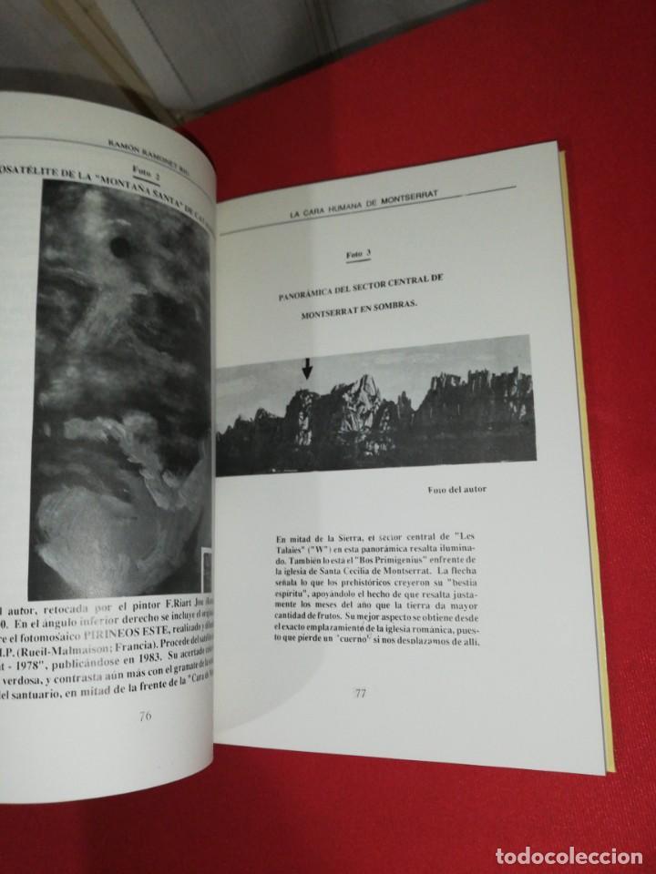 Libros de segunda mano: Ramón Ramonet Riu, la cara humana de Montserrat - Foto 5 - 171371058
