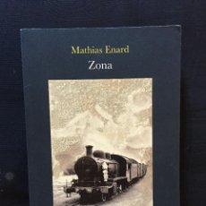 Libros de segunda mano: ZONA DE MATHIAS ENARD. Lote 171432109