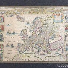 Libros de segunda mano: FACSÍMIL DEL ATLAS DE EUROPA, DE WILHELM BLAEU (S. XVII), 50 MAPAS. Lote 171476949