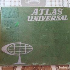 Libros de segunda mano: ATLAS UNIVERSAL - ATLAS ESCOLAR EDELVIVES - 1964. Lote 171500039