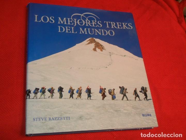 LOS MEJORES TREKS DEL MUNDO, DE STEVE RAZZETTI, BLUME 2002 (Libros de Segunda Mano - Geografía y Viajes)