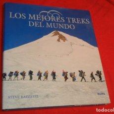 Libros de segunda mano: LOS MEJORES TREKS DEL MUNDO, DE STEVE RAZZETTI, BLUME 2002. Lote 171502725