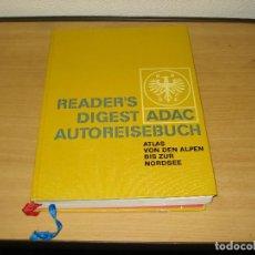 Libros de segunda mano: READER'S DIGEST ADAC ATLAS DE LOS ALPES AL MAR DEL NORTE. VERLAG DAS BESTE GMBH. AÑO 1968. ALEMÁN. Lote 171711082