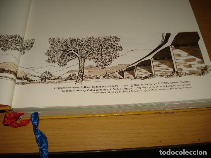 Libros de segunda mano: READER'S DIGEST ADAC ATLAS DE LOS ALPES AL MAR DEL NORTE. VERLAG DAS BESTE GMBH. AÑO 1968. ALEMÁN - Foto 4 - 171711082