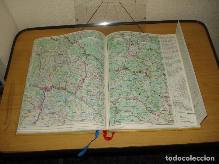 Libros de segunda mano: READER'S DIGEST ADAC ATLAS DE LOS ALPES AL MAR DEL NORTE. VERLAG DAS BESTE GMBH. AÑO 1968. ALEMÁN - Foto 6 - 171711082
