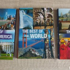 Libros de segunda mano: THE BEST OF WORLD. THE BEST OF INDIA. THE BEST OF NORTH AMERICA. Lote 171742675