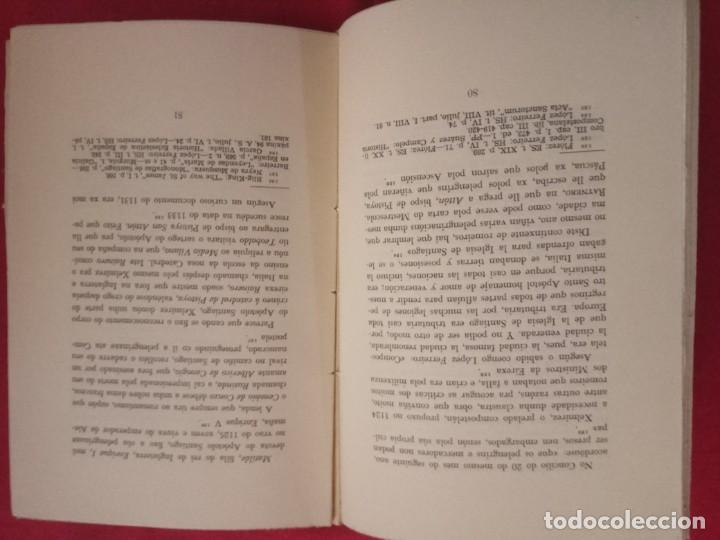 Libros de segunda mano: A PELENGRINAXE AO XACOBE DE GALICIA. XESUS CARRO. GALAXIA, 1965. - Foto 3 - 171767489