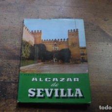 Libros de segunda mano: GUIA DEL ALCAZAR DE SEVILLA, J. ROMERO MORUBE, PATRIMONIO NACIONAL, 1960. Lote 171894764
