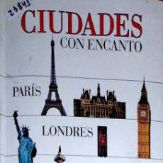 Libros de segunda mano: 23843 - CIUDADES CON EL ENCANTO - GUIAS VISUALES - EL PAIS - AÑO 1996. Lote 171987218