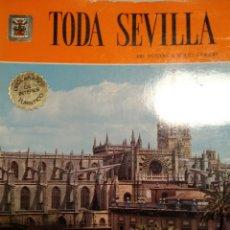 Libros de segunda mano: TODA SEVILLA. 140 FOTOS A TODO COLOR. EDITORIAL ESCUDO DE ORO. PRIMERA EDICIÓN MARZO 1972. PESO 500. Lote 171995005