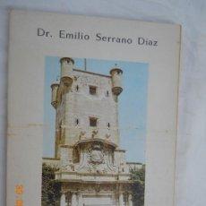 Libros de segunda mano: CASTILLOS DE ANDALUCIA , I DR EMILIO SERRANO DIAZ 1967 EDITORIAL REVISTA GEOGRAICA ESPAÑOLA. Lote 171997787