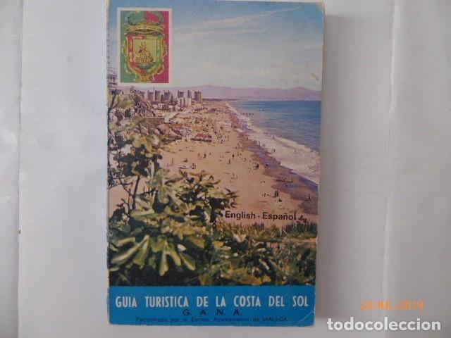 GUIA TURISTICA DE LA COSTA DEL SOL MALAGA, EN ESPAÑOL E INGLES, (Libros de Segunda Mano - Geografía y Viajes)