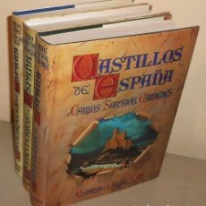 Libros de segunda mano: CASTILLOS. MONASTERIOS. CATEDRALES. 3 TOMOS. SARTHOU CARRERES. NAVASCUES. PR. AZORIN. ESPASA CALPE.. Lote 172663154