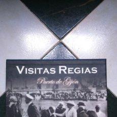 Libros de segunda mano: VISITAS REGIAS.PUERTO DE GIJON. VARIOS AUTORES. Lote 172837913