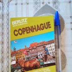 Libros de segunda mano: COPENHAGUE - BERLITZ GUÍA TURÍSTICA - EDICIÓN 1986/1987. Lote 172859090