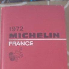Libros de segunda mano: MICHELIN FRANCE 1972 PNEU MICHELIN . Lote 172949697