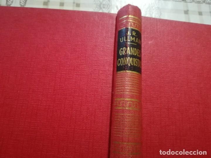 Libros de segunda mano: Grandes conquistas. Enciclopedia de la montaña por James Ramsey Ullman - 1954 - Foto 2 - 173146962