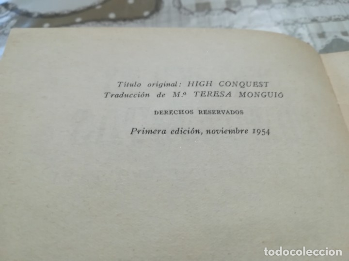 Libros de segunda mano: Grandes conquistas. Enciclopedia de la montaña por James Ramsey Ullman - 1954 - Foto 4 - 173146962