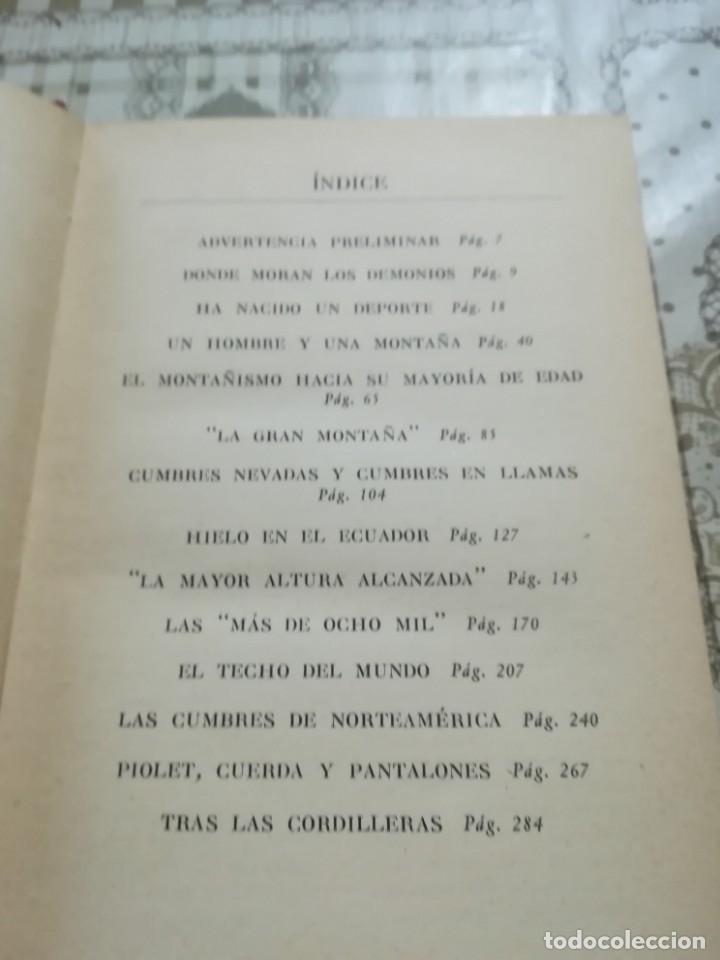 Libros de segunda mano: Grandes conquistas. Enciclopedia de la montaña por James Ramsey Ullman - 1954 - Foto 5 - 173146962