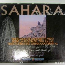Libros de segunda mano: SAHARA OCCIDENTAL. GOBIERNO VASCO 2010. FOTOS ALTA CALIDAD. TAPA DURA. 282 PÁGS. 2 IDIOMAS. Lote 173236974