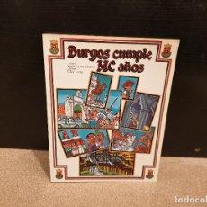 Libros de segunda mano: BURGOS CUMPLE MC AÑOS.....EN COMIC....1983...... Lote 173246357
