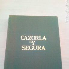 Libros de segunda mano: CAZORLA Y SEGURA - PROLOGO FELIX RODRIGUEZ DE LA FUENTE. Lote 173859768