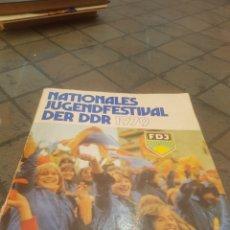 Libros de segunda mano: FESTIVAL NACIONAL DE LA JUVENTUD 1979. Lote 173910913