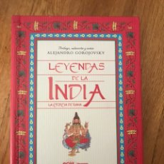Livres d'occasion: LEYENDAS DE LA INDIA ALEJANDRO GOROJOVSKY. Lote 173913479