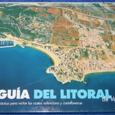 Libros de segunda mano: AEROGUÍA DEL LITORAL DE VALENCIA Y CASTELLÓN - PLANETA (1997). Lote 174041565