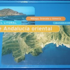 Libros de segunda mano: AEROGUÍA DEL LITORAL DE ANDALUCÍA - PLANETA (1997). Lote 174041608