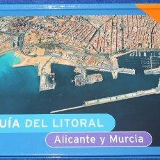 Libros de segunda mano: AEROGUÍA DEL LITORAL DE ALICANTE Y MURCIA - PLANETA (1997). Lote 174041637