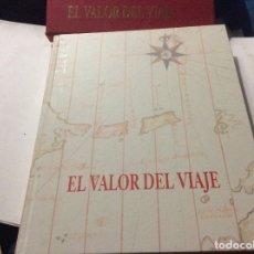 Livros em segunda mão: EL VALOR DEL VIAJE, DE JAVIER REVERTE, JUAN LUIS ARSUAGA, SEBASTIÁN ÁLVARO, JAVIER CACHO Y OTROS MÁS. Lote 174252283
