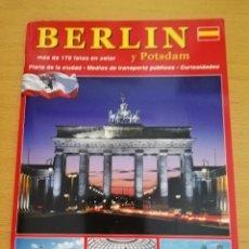 Libros de segunda mano: BERLÍN Y POSTDAM. MÁS DE 170 FOTOS EN COLOR. Lote 174313698