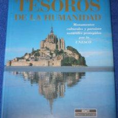 Libros de segunda mano: TESOROS DE LA HUMANIDAD - UNESCO - CÍRCULO DE LECTORES (1996) ¡IMPECABLE!. Lote 174981913