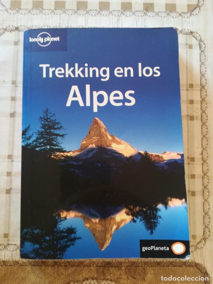 TREKKING EN LOS ALPES - LONELY PLANET - 2004 (Libros de Segunda Mano - Geografía y Viajes)