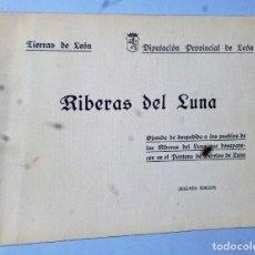 Libros de segunda mano: RIBERAS DEL LUNA. OFRENDA DE DESPEDIDA A LOS PUEBLOS DE LAS RIBERAS DEL LUNA QUE DESAPARECEN…. Lote 175076962