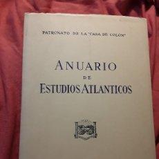 Libros de segunda mano: ANUARIO DE ESTUDIOS ATLANTICOS 1983 (N° 29). CANARIAS. INTONSO.. Lote 175353629