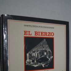 Libros de segunda mano: EL BIERZO. ETNOGRAFIA Y FOLKLORE DE LAS COMARCAS LEONESAS. JOSÉ ALONSO Y AMADOR DIEGUEZ. Lote 175589498