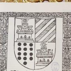Libros de segunda mano: ITINERARIO DEL VENERABLE VARON MICER.FACSIMIL.. Lote 175662457